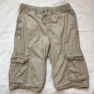 Other - Old Navy Light Khaki Cargo Jogger Shorts